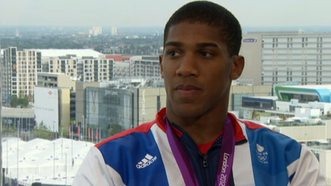 GB boxer Anthony Joshua