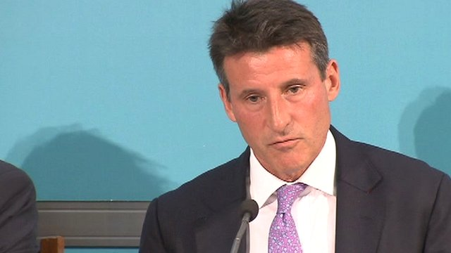 Lord Coe, chairman of Games organiser Locog