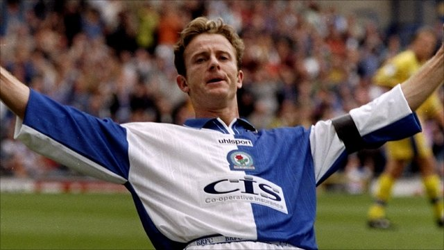 Former Blackburn Rovers striker Kevin Gallacher