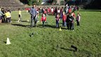 The New Zealand island of Taihape claims to be the centre of gumboot throwing, holding an annual 'Gumboot Day'. (Incidentally, the British cousin of this event is The World Welly Wanging Championships, held every year in Upperthong, Holmfirth.)