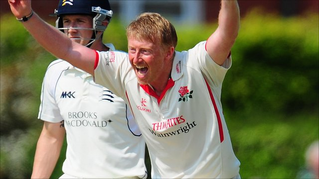 Lancashire captain Glen Chapple