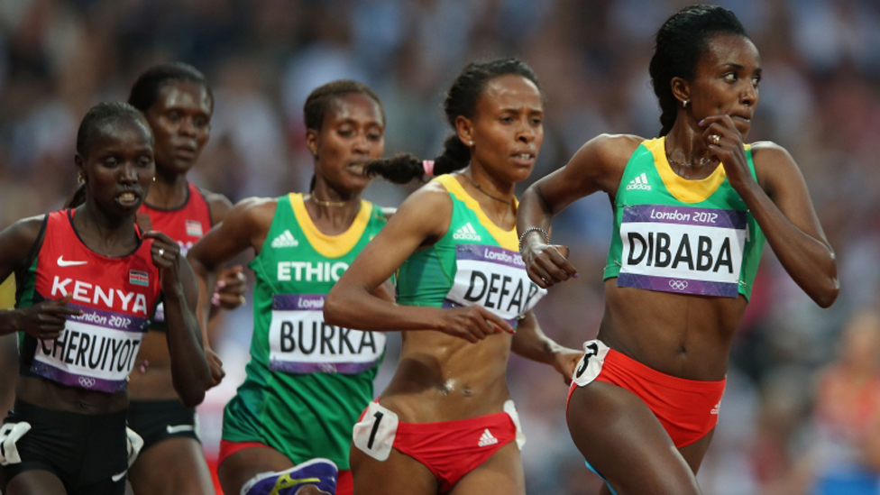 BBC News - In pictures: African Olympic stars at London 2012