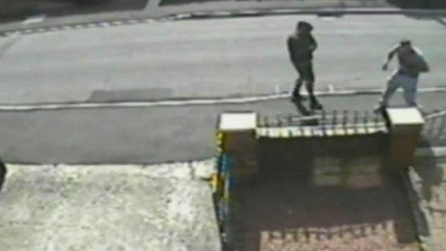 The grenade attack on Luke Road, Droylsden