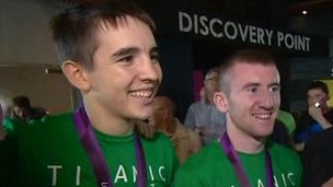 Michael Conlan and Paddy Barnes