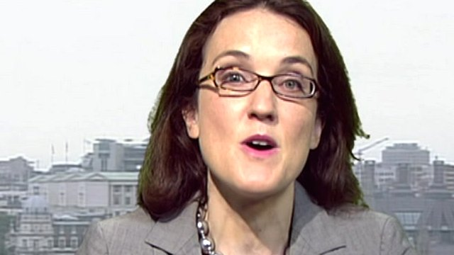 Rail Minister Theresa Villiers