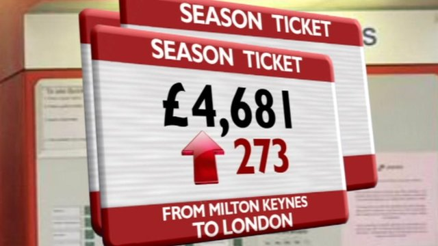Season ticket price hikes