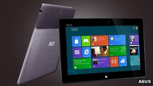 Asus Windows RT tablet