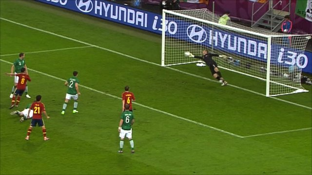 Shay Given saves for Ireland