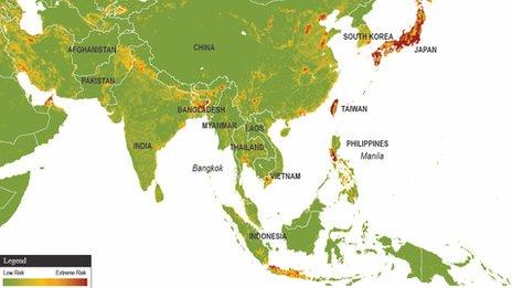 自然灾害风险地图集
