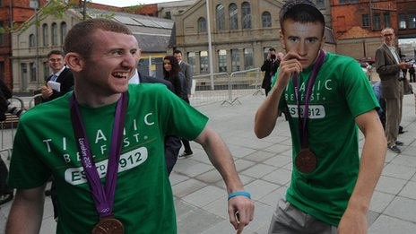 Paddy Barnes and Michael Conlan
