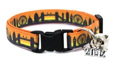 London skyline cat safety collar