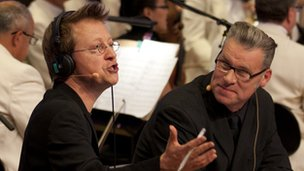 Simon Mayo and Mark Kermode