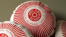 Tunnock's Teacake cushion