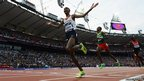 Mo Farah wins the 5,000m to claim his second Olympic gold