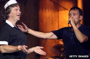 Harry Enfield and Blur