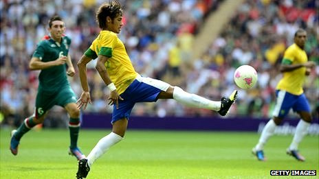 Brazilian football player Neymar