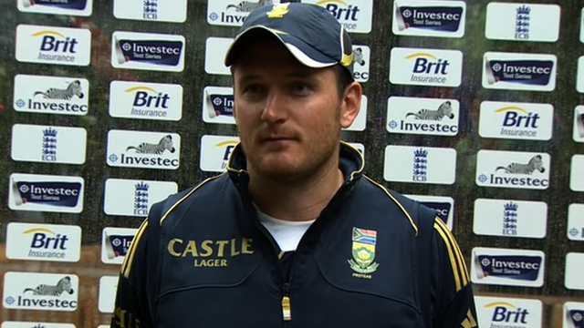 South African captain Graeme Smith