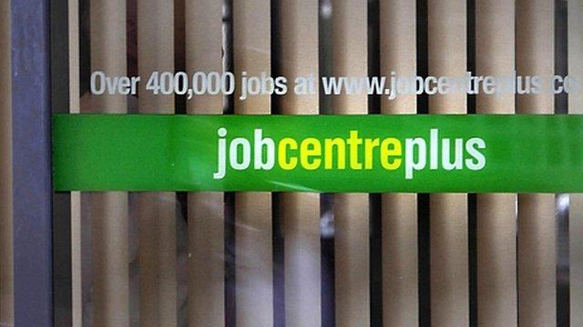 Job centre sign