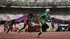 Saudi Arabia's 800m runner Sarah Attar