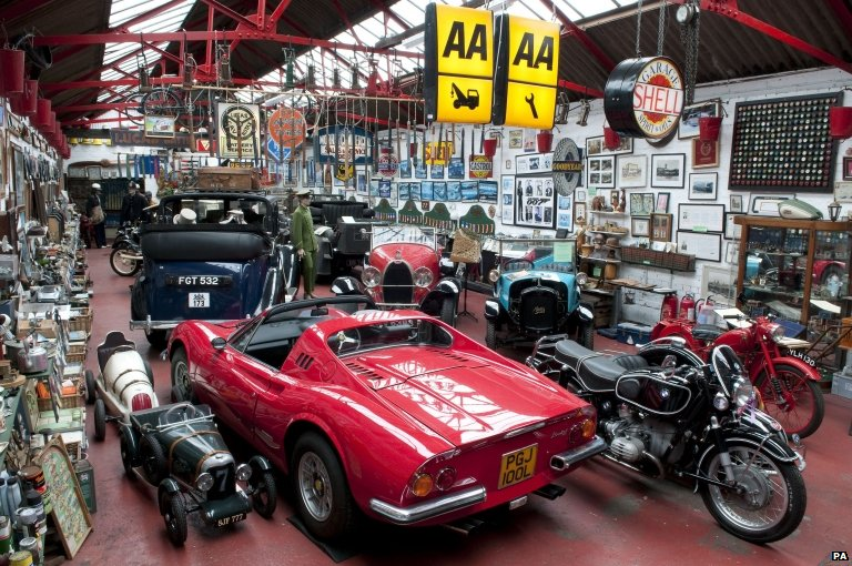 Bbc News Exmoor Classic Car Collection To Be Auctioned