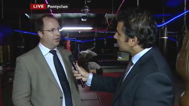 Nick Servini speaks to Dan Langford, of Acorn Recruitment