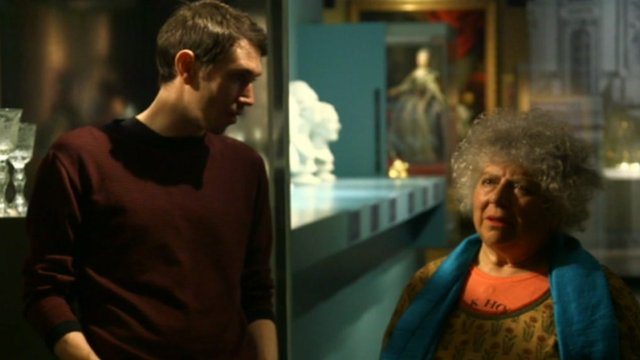 Alastair Sooke and Miriam Margolyes