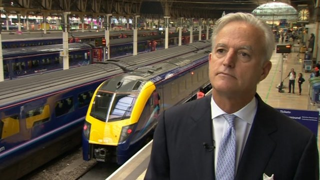 Chief executive of FirstGroup Tim O'Toole