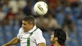 Jon Walters fights out an aerial duel with Milan Bisevac