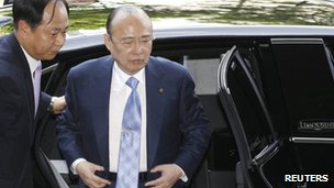 Hanwha group chairman Kim Seung-Youn
