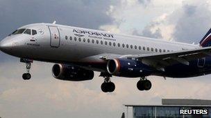 An Aeroflot plane (generic image)