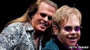 Robert Wayne Birch with Sir Elton John