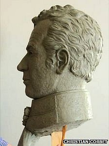 Major General Sir Isaac Brock bust