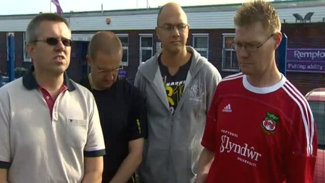 Wrexham Remploy workers