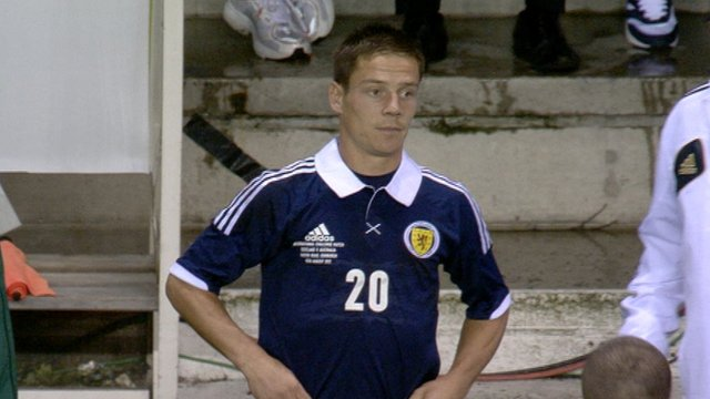 Scotland midfielder Ian Black