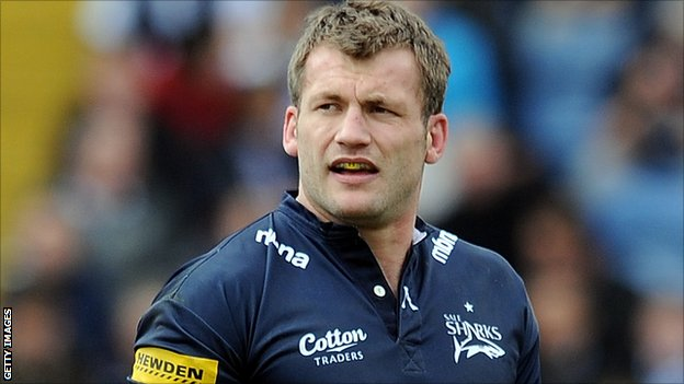 Sale Sharks winger Mark Cueto