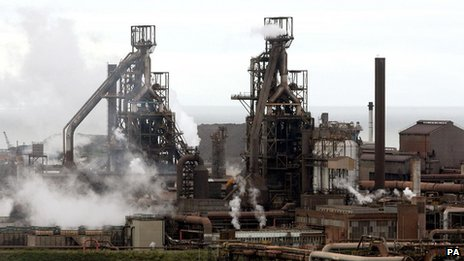Steelworks in Port Talbot