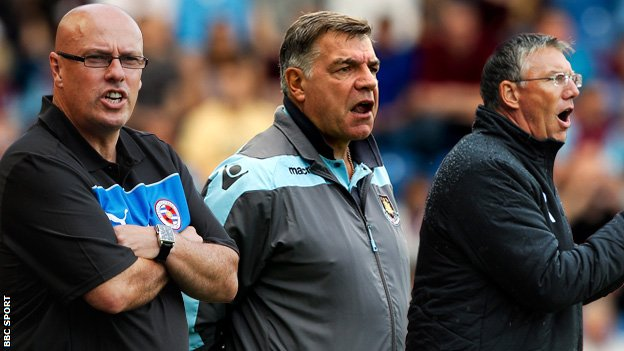 McDermott, Allardyce and Adkins