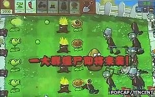 Plants vs Zombie screenshot