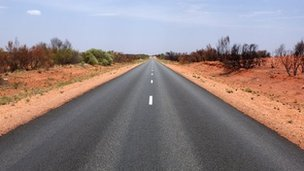 Road in Northern Territory