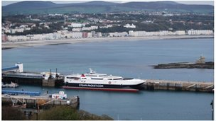 Isle of Man Steam Packet's Manannan