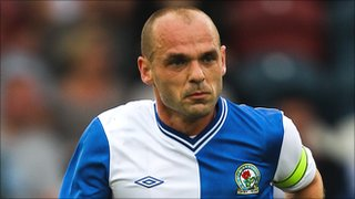 Blackburn midfielder Danny Murphy
