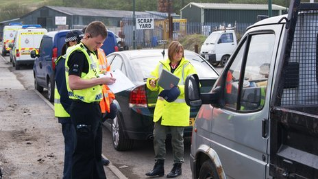 Gwent officers stopping vehicles