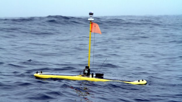 The shark-tracking robot