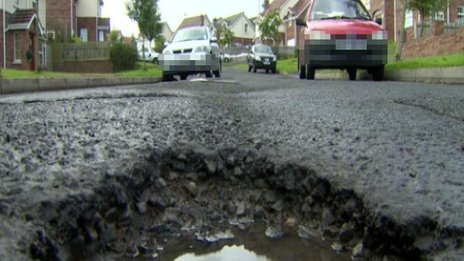 Some residents say the road has too many pot-holes for buses