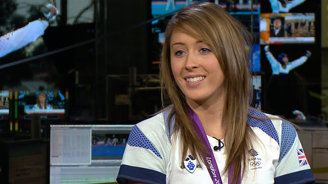 Olympic champion Jade Jones