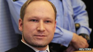 Anders Behring Breivik. File photo