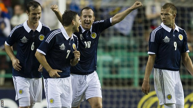 Scotland beat Australia 3-1 this week