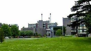 University of Ulster's Jordanstown Campus