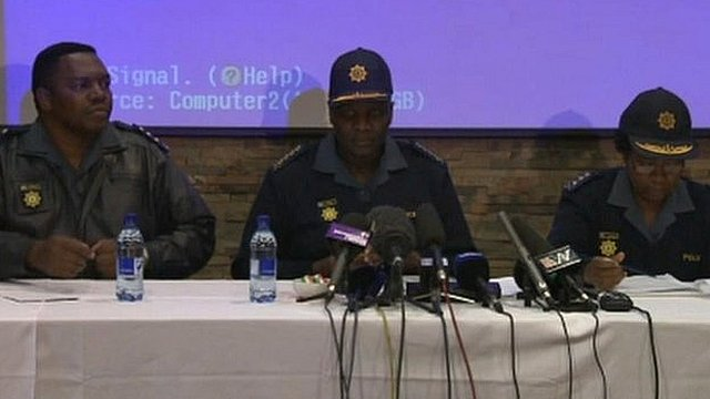 Police news briefing