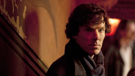 Benedict Cumberbatch as Sherlock Holmes
